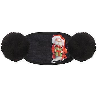 Mode Schmetterling Druck Frauen Earmuffs, Winter flauschige Ohrmütze