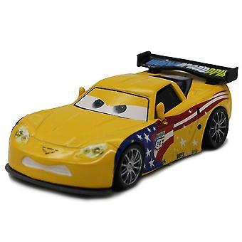 Bilar Nr. 24 American Racing Driver Jeff Alloy Children's Cartoon Toy Simulation Bilmodell