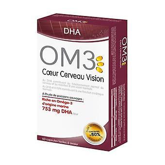 OM3 DHA Heart Brain Vision 60 tablets