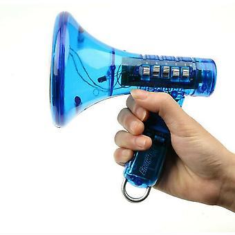Дети Голос Сменщик Робот Мегафон Усилитель 10 Звуковые эффекты Светодиодные мальчики Подарок