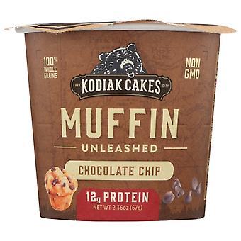 Kodiak Muffin Min Choc Chip, Case of 12 X 2.36 Oz