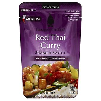 Passage Foods Sauce Smmr Curry Red Thai, Case of 6 X 7 Oz