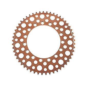 54 ارتفع الأسنان الذهب للطي الدراجة 54t سلسلة الطريق الدراجة الأسنان السلبية واحدة سلسلة az13299