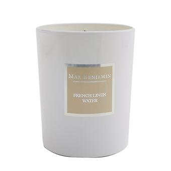 Max Benjamin Candle - French Linen Water 190g/6.5oz