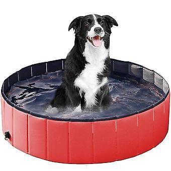 Pet pool hopfällbar hund bad badkar utomhus katt hund rengöring leveranser