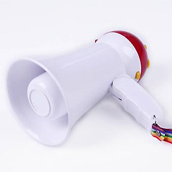 Bærbar, foldbar, håndholdt megafonhøjttalerforstærker, optager,