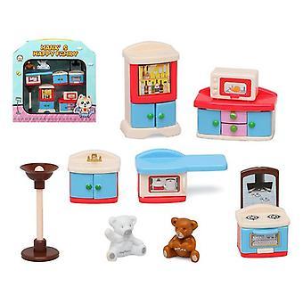 Dolls House Tarvikkeet Happy Family Kitchen