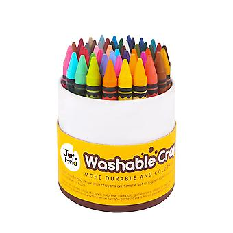 Jar Melo Crayons Lavables (48 Colores)