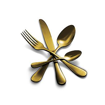 Mepra Michelangelo Vintage Oro 5 pcs flatware set