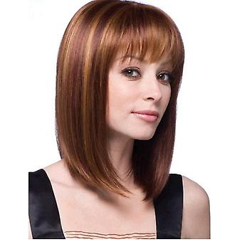 Natural Lifelike Straight Heat Resistant Wig For Women