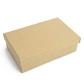 16.5cm Rectangulaire Flat Paper Mache Box avec couvercle à décorer - | Boîtes papier