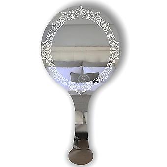 Ручные выгравированы винтажный вид акриловые зеркало