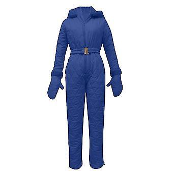 Femei Pantaloni topuri cu glugă și mănuși Set pentru schi în aer liber