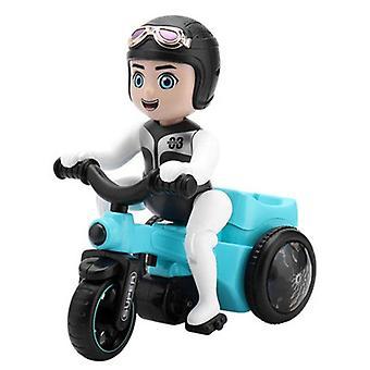 360 Universal Twistering Motorrad mit Musik & Licht Modell Elektrische Sound Dreirad Spielzeugfahrzeuge