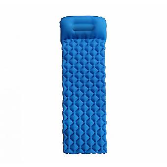 Outdoor Portable Inflatable Cushion, Camping Moisture-proof Mat, Picnic Mat, Suitable For Camping, Traveling, Hiking (blue)