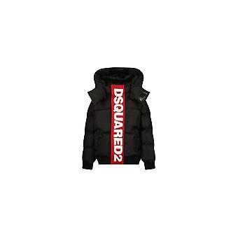 DSQUARED2 Panel Logo Hooded Jacket