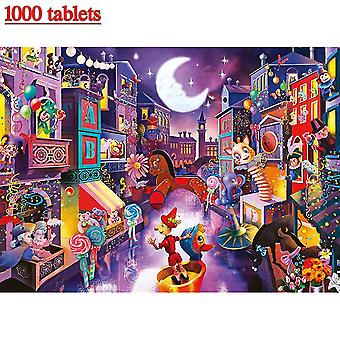 Jigsaw puzzles 1000 pieces diy jigsaw puzzle adult puzzles kids educational toy home decor