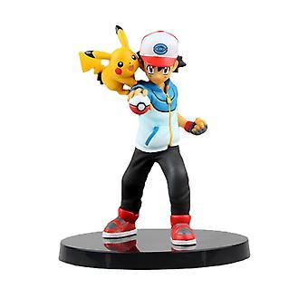 Pokmon Pokemon Pokemon Xiaozhi Pikachu Pokemon Figure