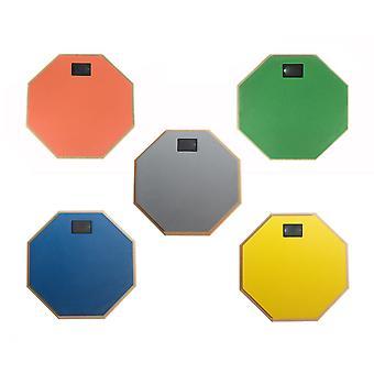 8インチミュート練習ダムドラムパッドラバー子供の練習ドラムキット