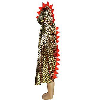 Dinosaurier Cape Dragon Kap Kap Kap Mantel Halloween Kostüm für Kinder