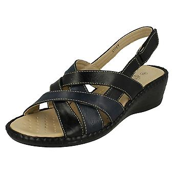 Ladies Eaze Casual Sandals