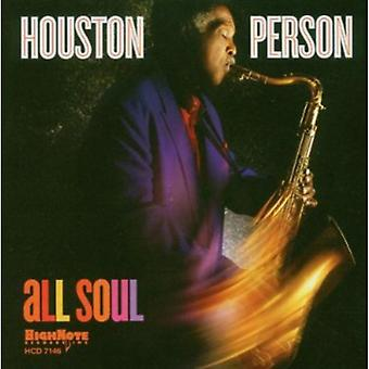 Houston Person - All Soul [CD] USA import