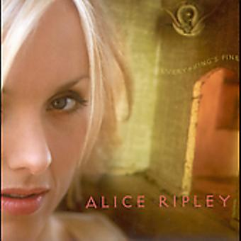 Alice Ripley - Everything's Fine [CD] USA import