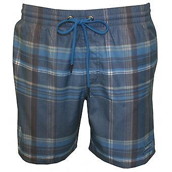 О ' Нил вечера Триумф проверил плавать шорты, синий