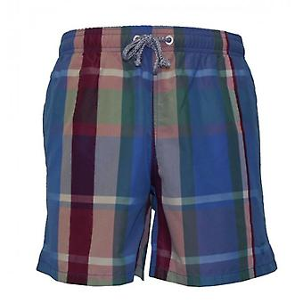 Pantalones cortos de baño GANT Plaid Print
