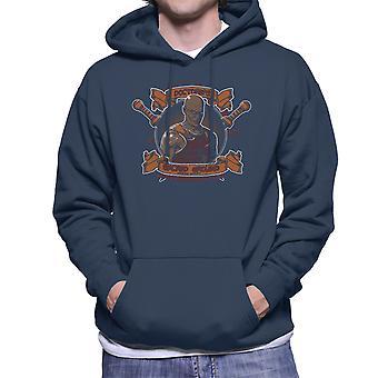 Doctores Sacred Ground Fighting Academy Spartacus Men's Hooded Sweatshirt