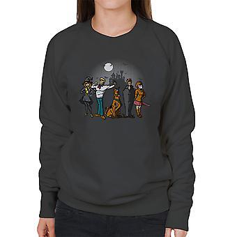 The Mystery Bunch Scoobie Doo Women's Sweatshirt