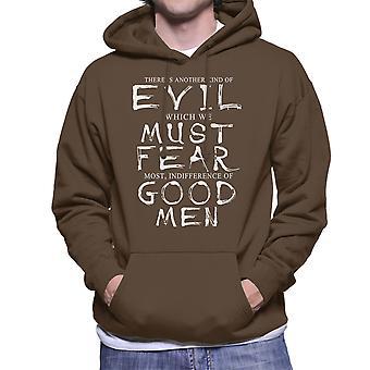Boondock Szent közömbösség a jó emberek Men ' s kapucnis pulóver