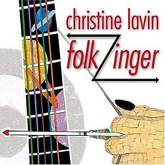 クリスティン ・ ラビン - Folkzinger [CD] USA 輸入
