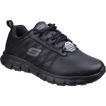 スケッチャーズ レディース/レディースは確か Erath スリップ耐性革靴を追跡します。