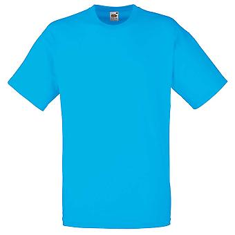 Fruit of the Loom Mens Valueweight Plain Colours Short Sleeve Cotton T-Shirt