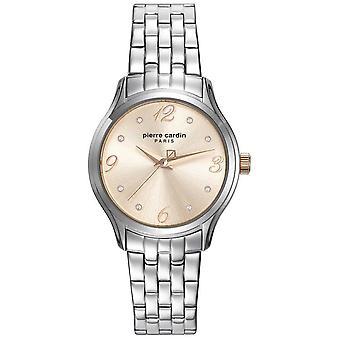 Pierre Cardin ladies watch wristwatch Montgallet stainless steel PC108162F05