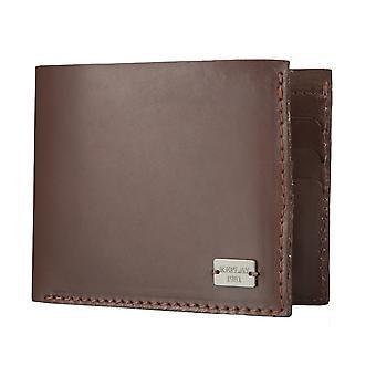 Повтор кошелек кошелек бумажник кожаный коричневый 4566