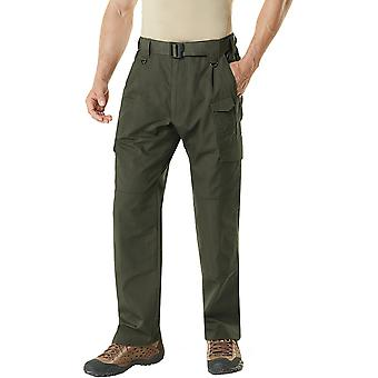 CQR TLP-105 Lightweight Ripstop EDC Tactical Assault Cargo Pants - Green