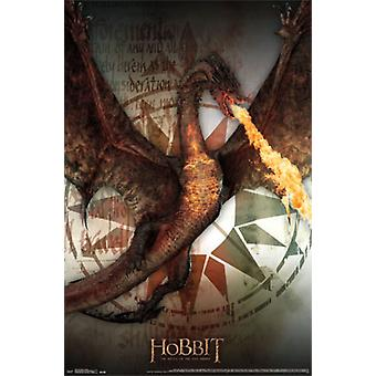 The Hobbit 3 - Smaug Poster Print