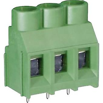 DECA MB910-635M02 Screw terminal 5.26 mm² Number of pins 2 Green 1 pc(s)