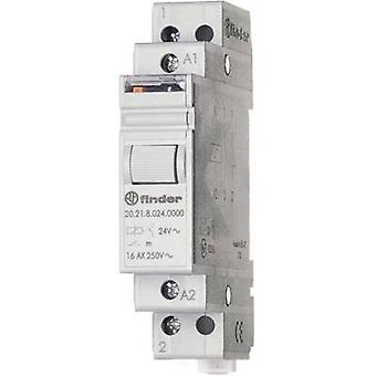 Finder 20.21.8.012.4000 16A modulaire stap Relay 20.21.8.012.4000 12 V AC SPST-NO 16 een (AC1) 4000VA/(AC15) 750 VA