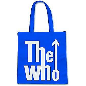 The Who Tote Bag Eco Shopper Bag Classic Band Logo new Official Blue