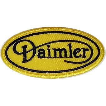 Daimler Script jäsenen/Kiinnitä-silitettäviä kangas Patch