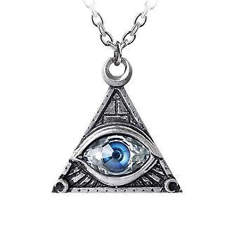 Alchemia oko Opatrzności wisiorek