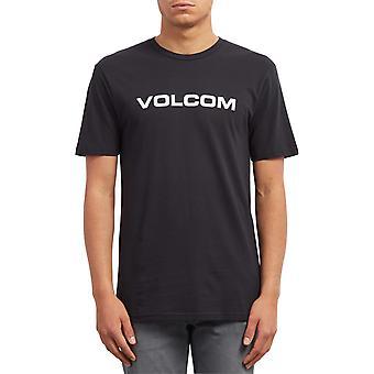 Volcom Crisp euro kortærmet T-shirt i sort