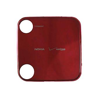 OEM Nokia 7705 Twist Battery Door, Standard size - Red (Bulk Packaging)