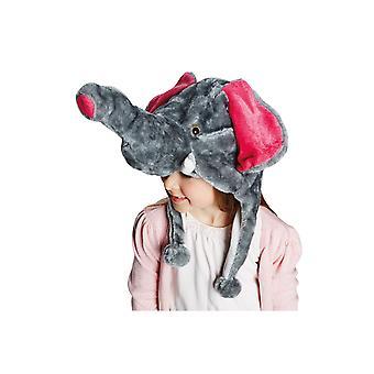 Elefante chapéu infantil e adulto acessório carnaval traje animal