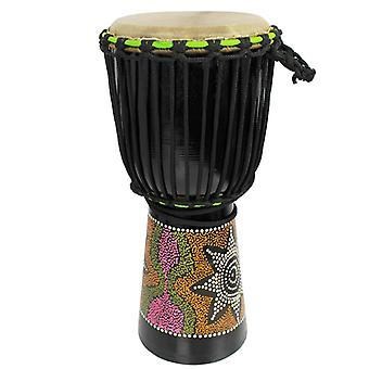 8 inch Painted Djembe