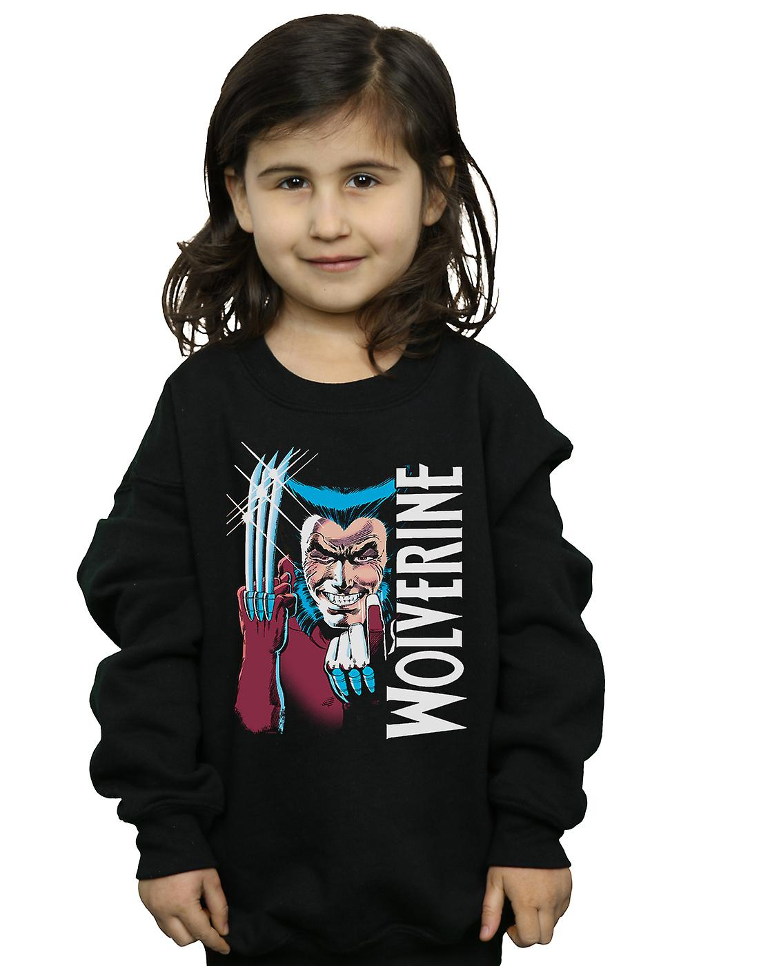 Marvel Girls X-Men Wolverine Come Here Sweatshirt