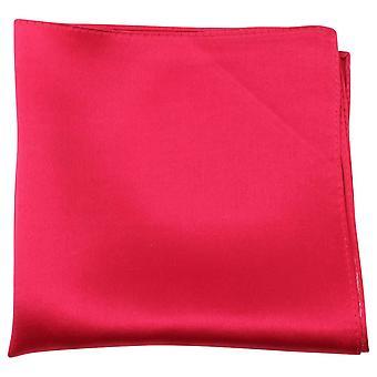 Knightsbridge Krawatte feine Seide Einstecktuch - rot